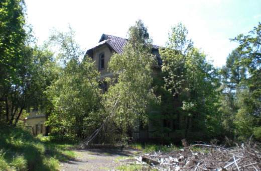 Abandoned house at sanatorium Königsberg No.2