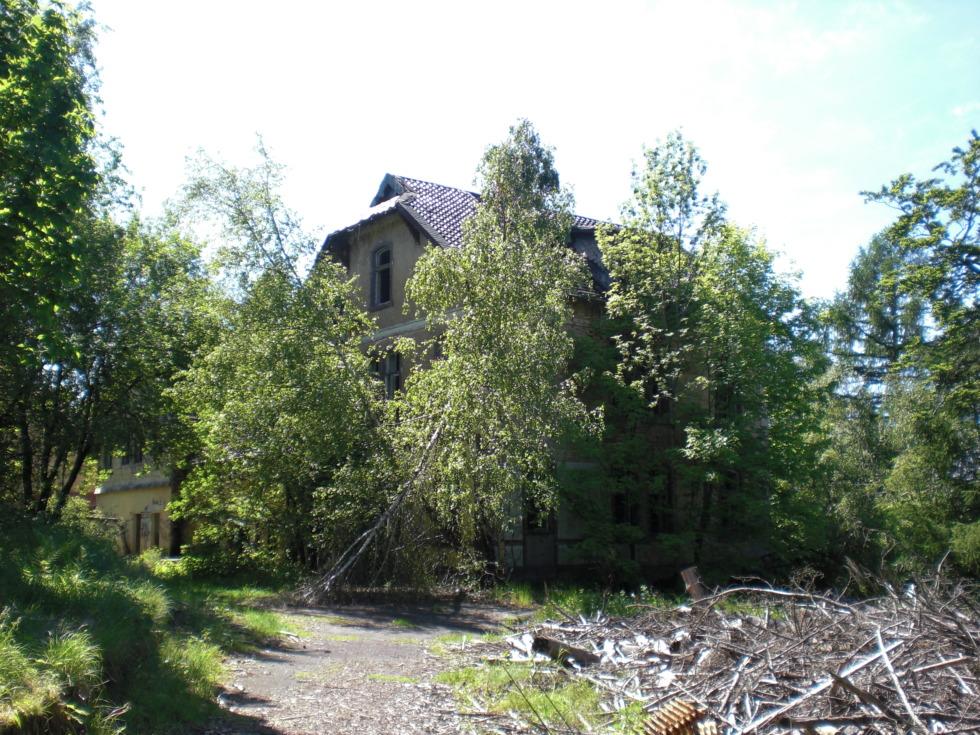 Abandoned house at sanatorium Königsberg No.2