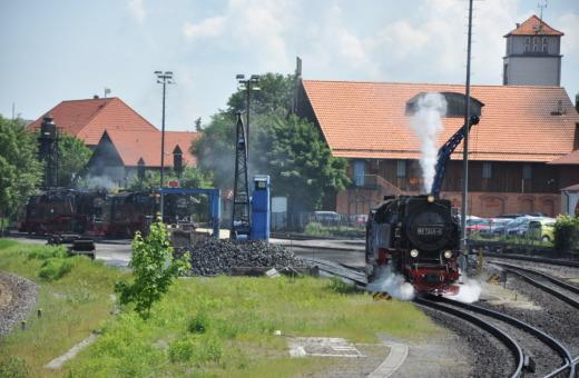 German steam engine No.6