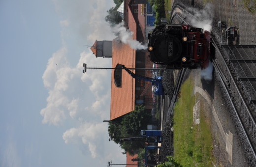 German steam engine No.7