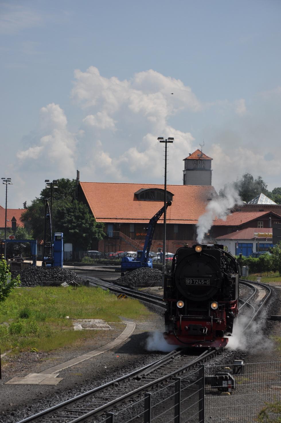 German steam engine No.7