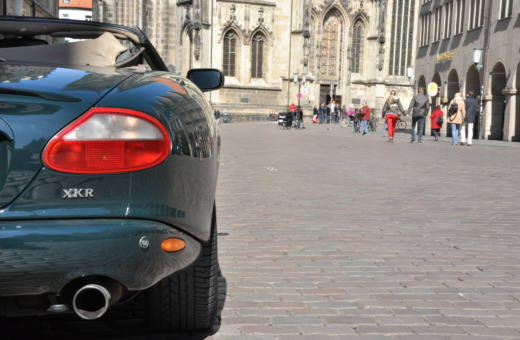 Jaguar XK8 covertible