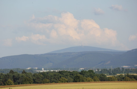 Harz mountains skyline