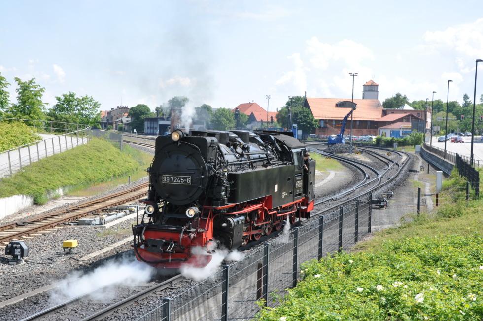 German steam engine No.13