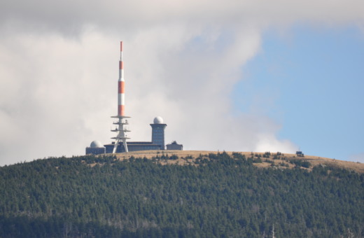 The Brocken in the harz mountains