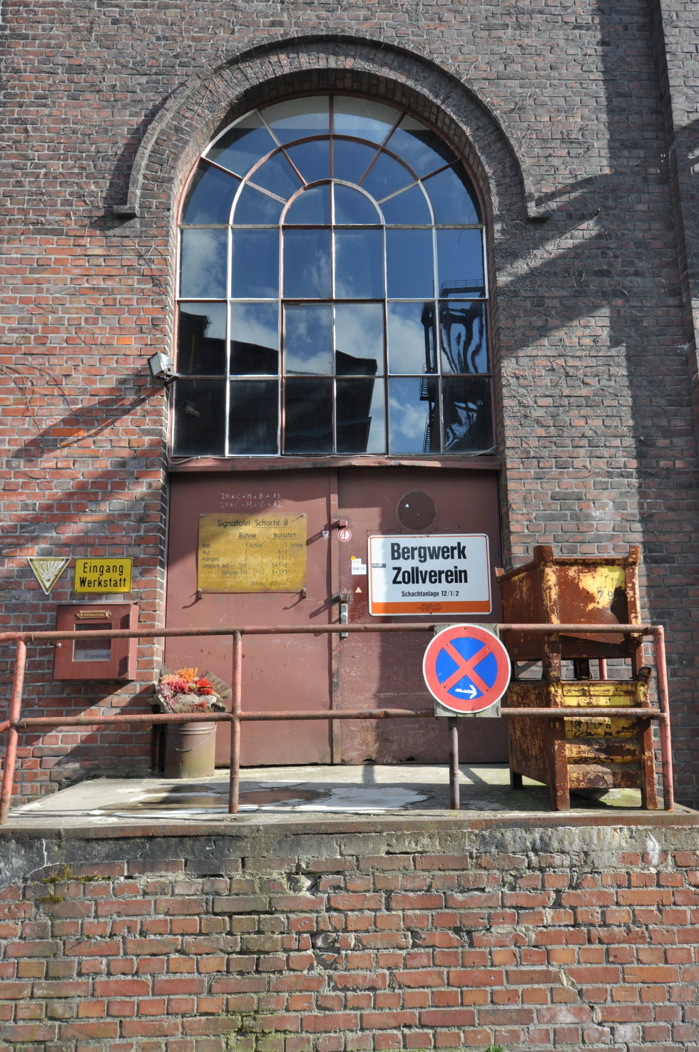 Dead mine building Zeche Zollverein