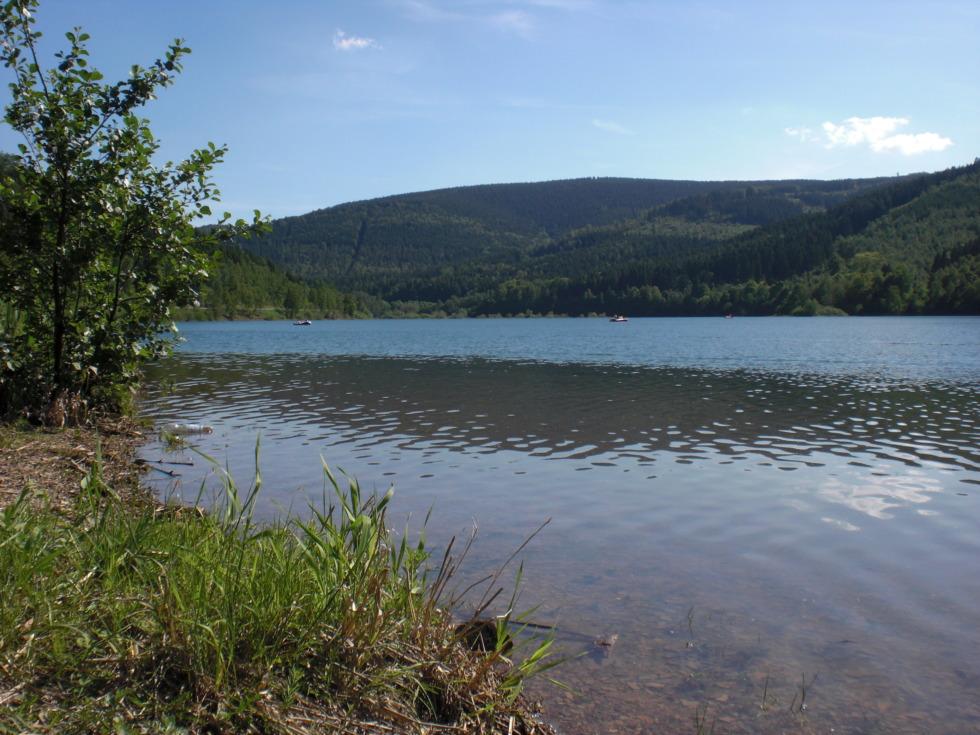 Scene at Granetalsperre reservoir No.1