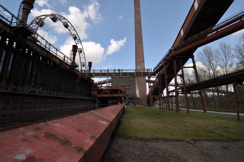Old cokery plant at Zeche Zollverein