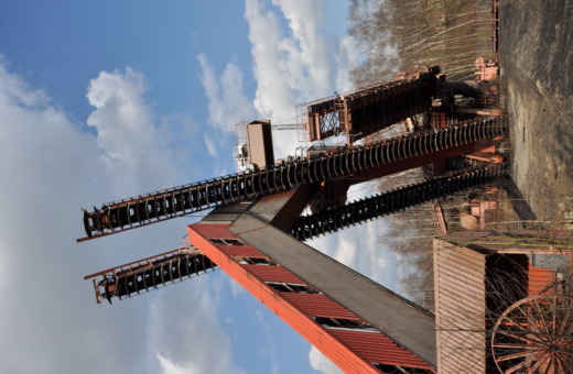 Old conveyor at Zeche Zollverein
