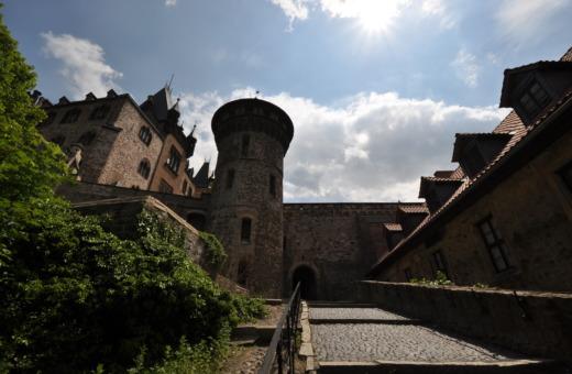 Stairway to castle Wernigerode