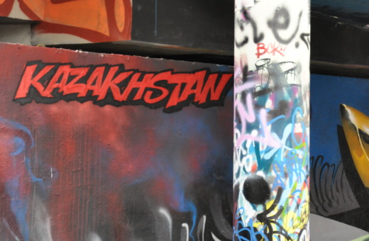 Public graffiti in Prague