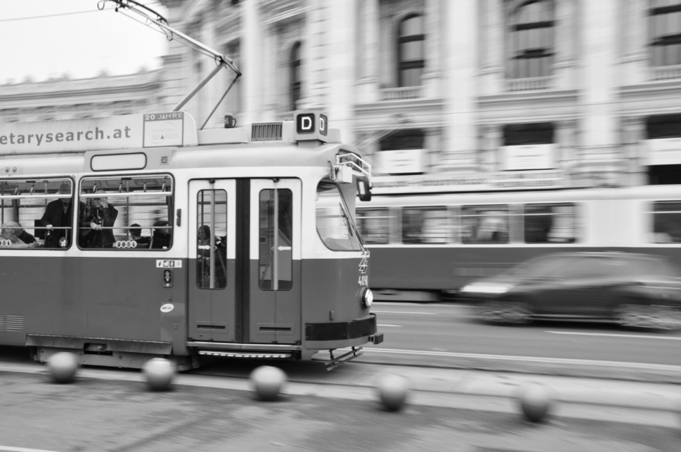 Tramway in Vienna
