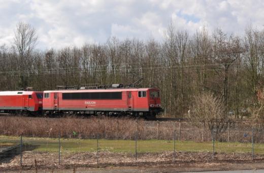 German freight train