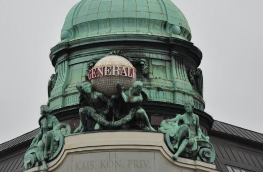 Generali building in Vienna