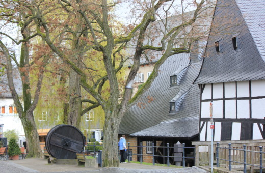 Old watermill - Worthmühle in Goslar