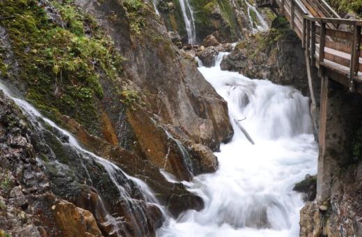 Wildbachklamm ravine near Berchtesgaden
