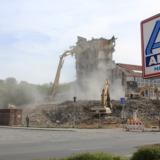 Demolition site at Odermark, Goslar