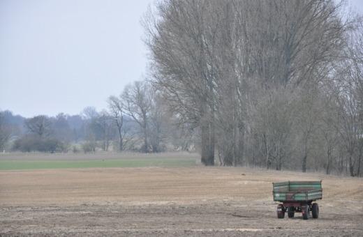 Farm trailer on field No.2