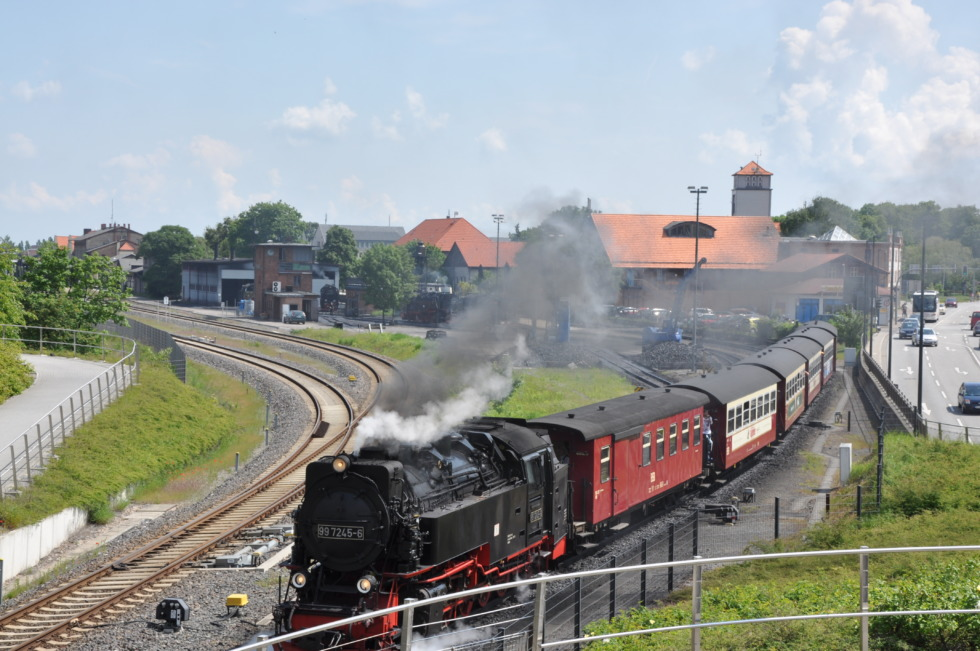 German steam engine No.16