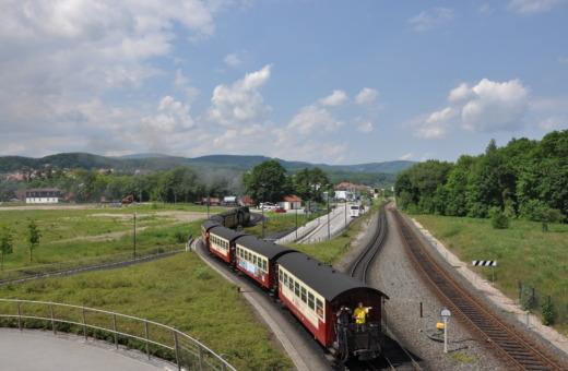 German steam engine No.18