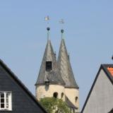Towers of the Jakobi church in Goslar