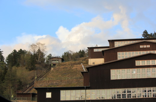 Buildings at Rammelsberg mine