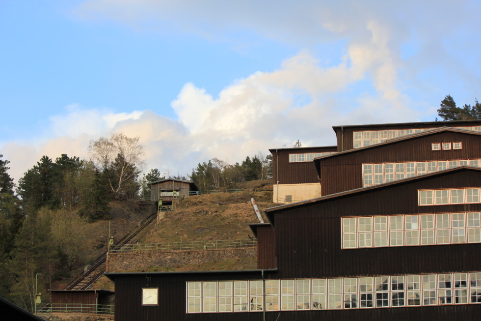 Buildings at Rammelsberg mine
