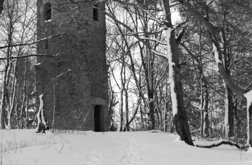 Steinberg tower in winter