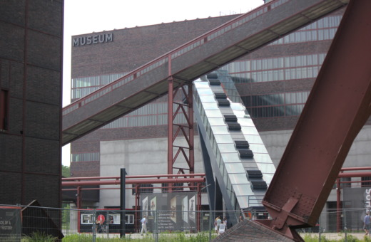 Conveyer at Zeche Zollverein mine