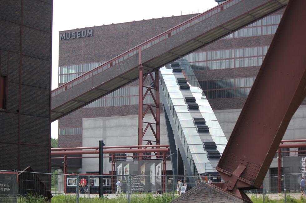 Conveyer at Zeche Zollverein mine