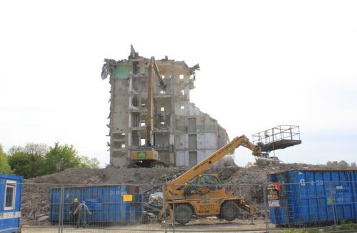 Deconstruction site at Odermark, Goslar