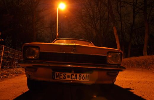 Old Opel Kadett front view