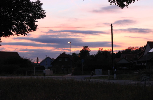 Sundown in the village