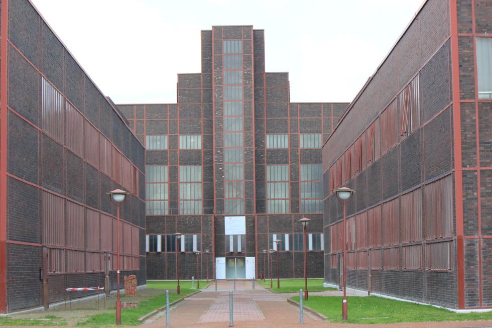 Entry of Zeche Zollverein, Essen