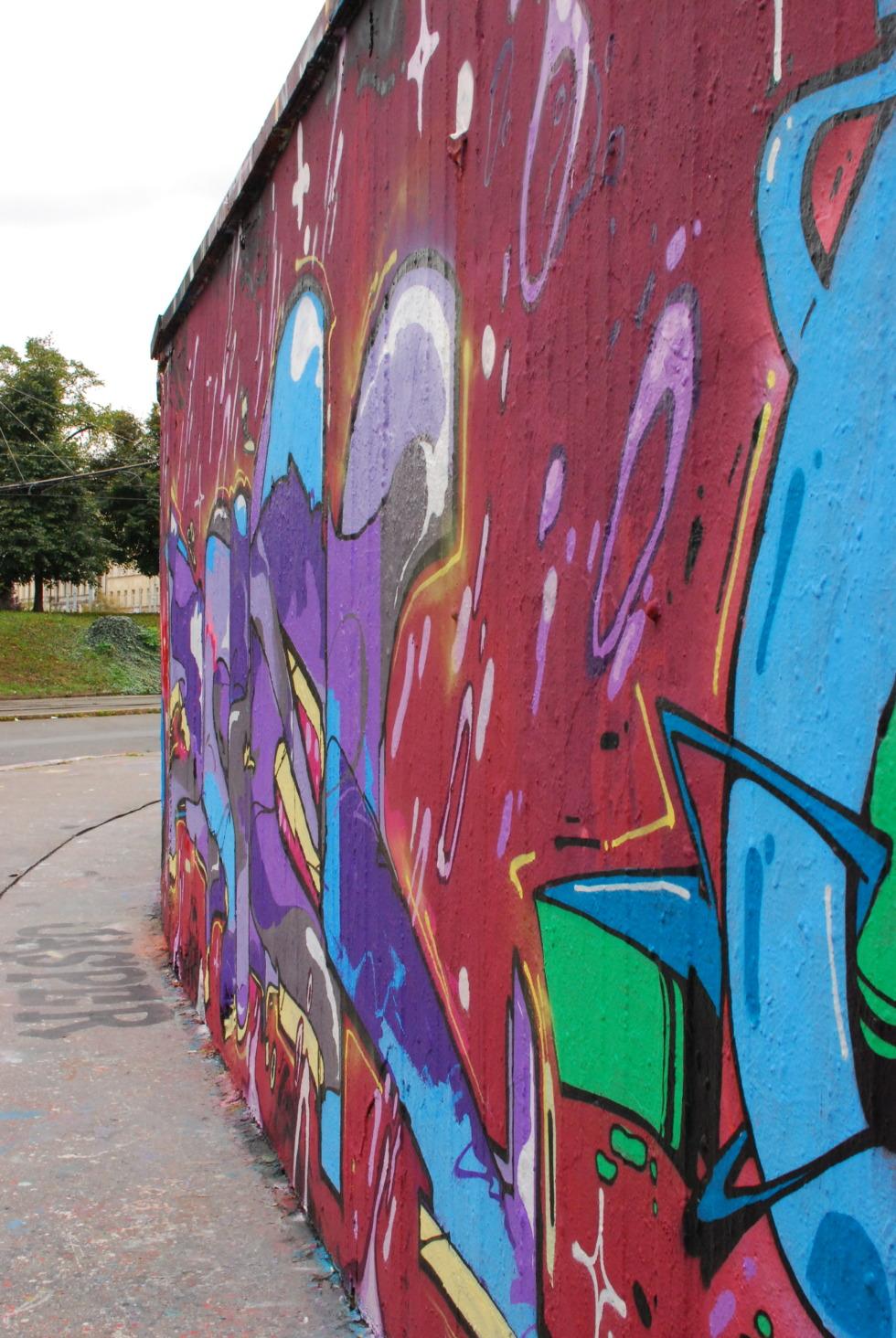 Legal graffiti in Prague