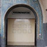 Entry to the old Elbe tunnel