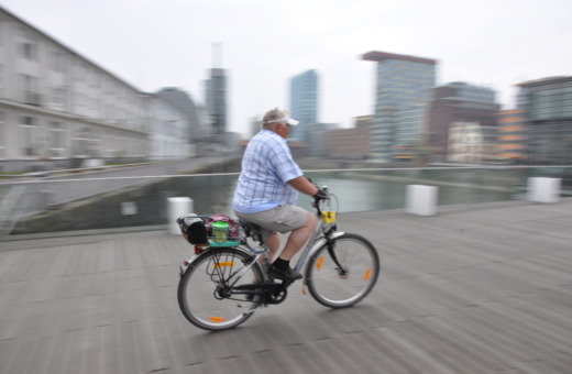 Speedy cyclist