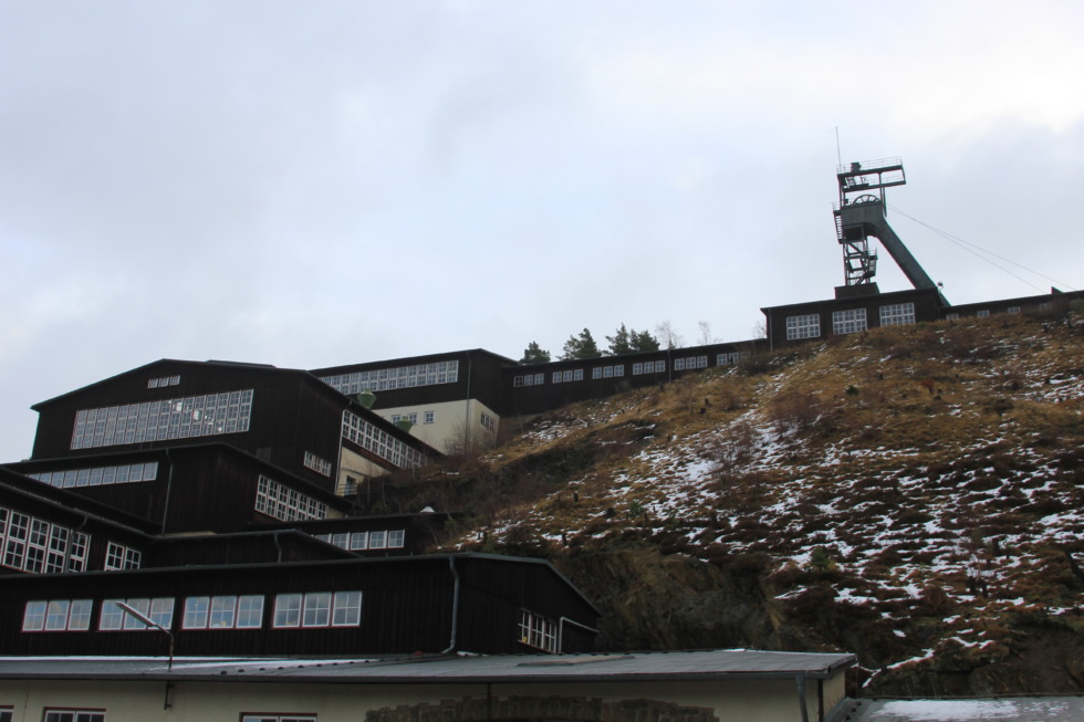 Buildings of Rammelsberg mine