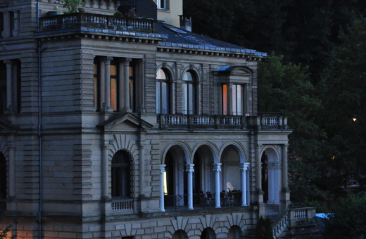 Impressive mansion on Heidelberg's hillside
