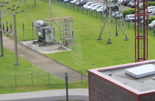 Transformer station at Zeche Zollverein