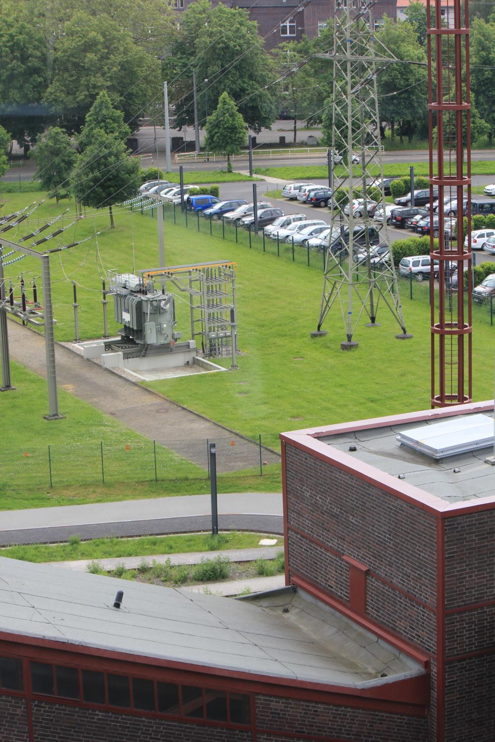 Transformer station at Zeche Zollverein