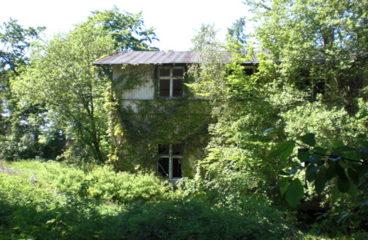Abandoned house at sanatorium Königsberg No.1