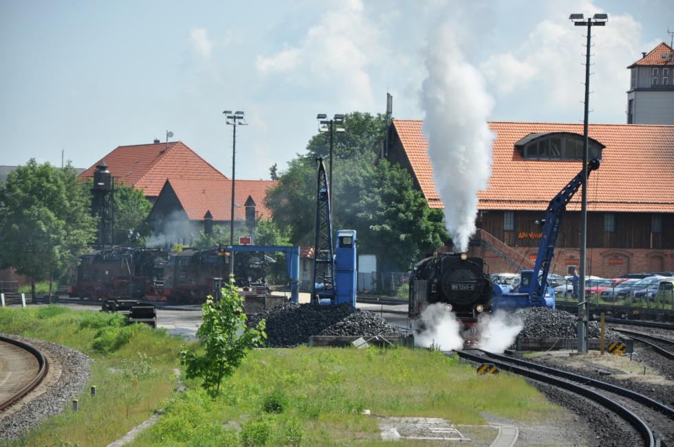 German steam engine No.1
