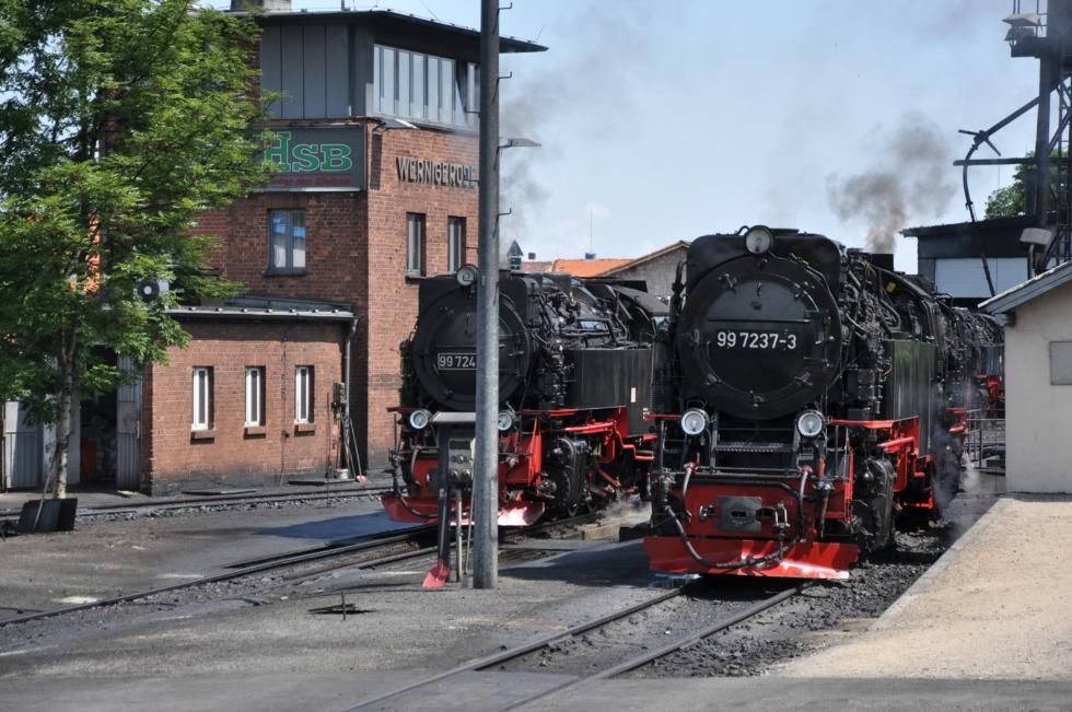 German steam engine No.2