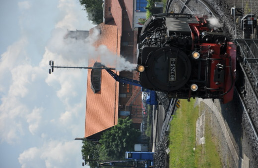 German steam engine No.8