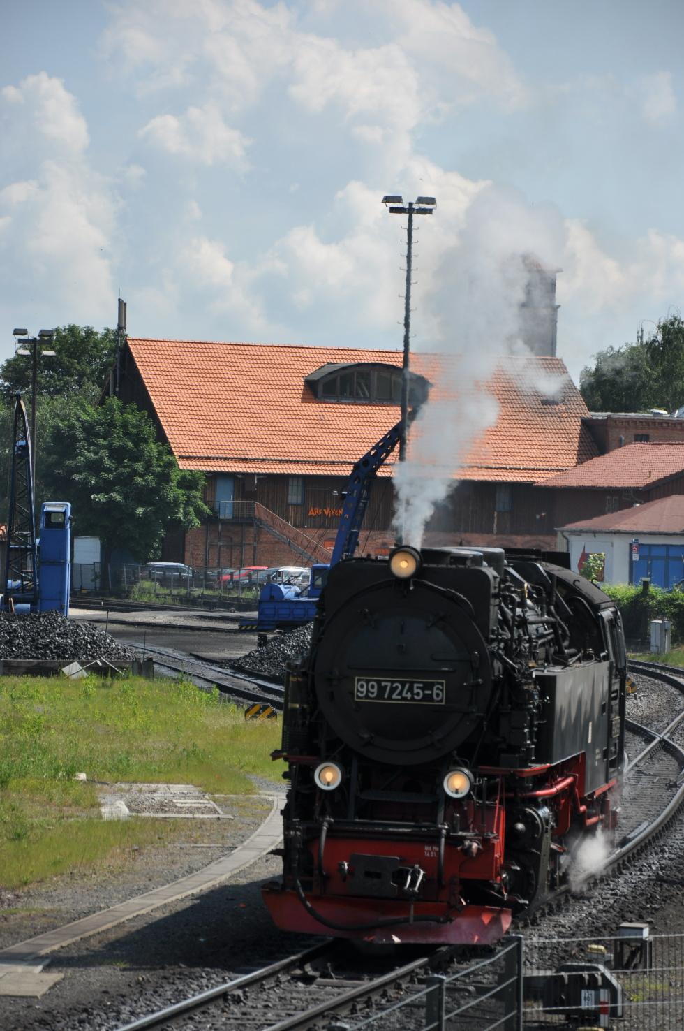 German steam engine No.8