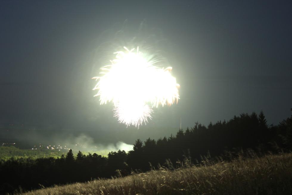 Fireworks over goslar No.2