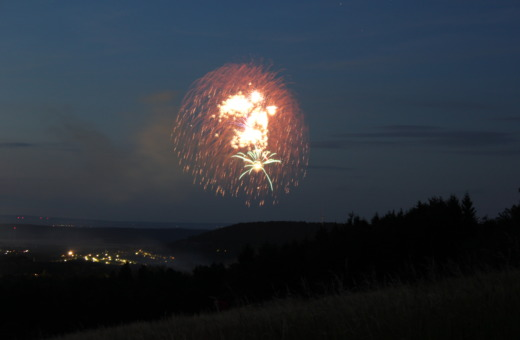 Fireworks over goslar No.3