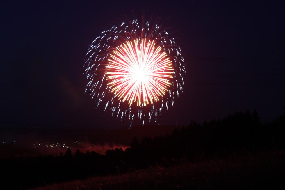 Fireworks over goslar No.4