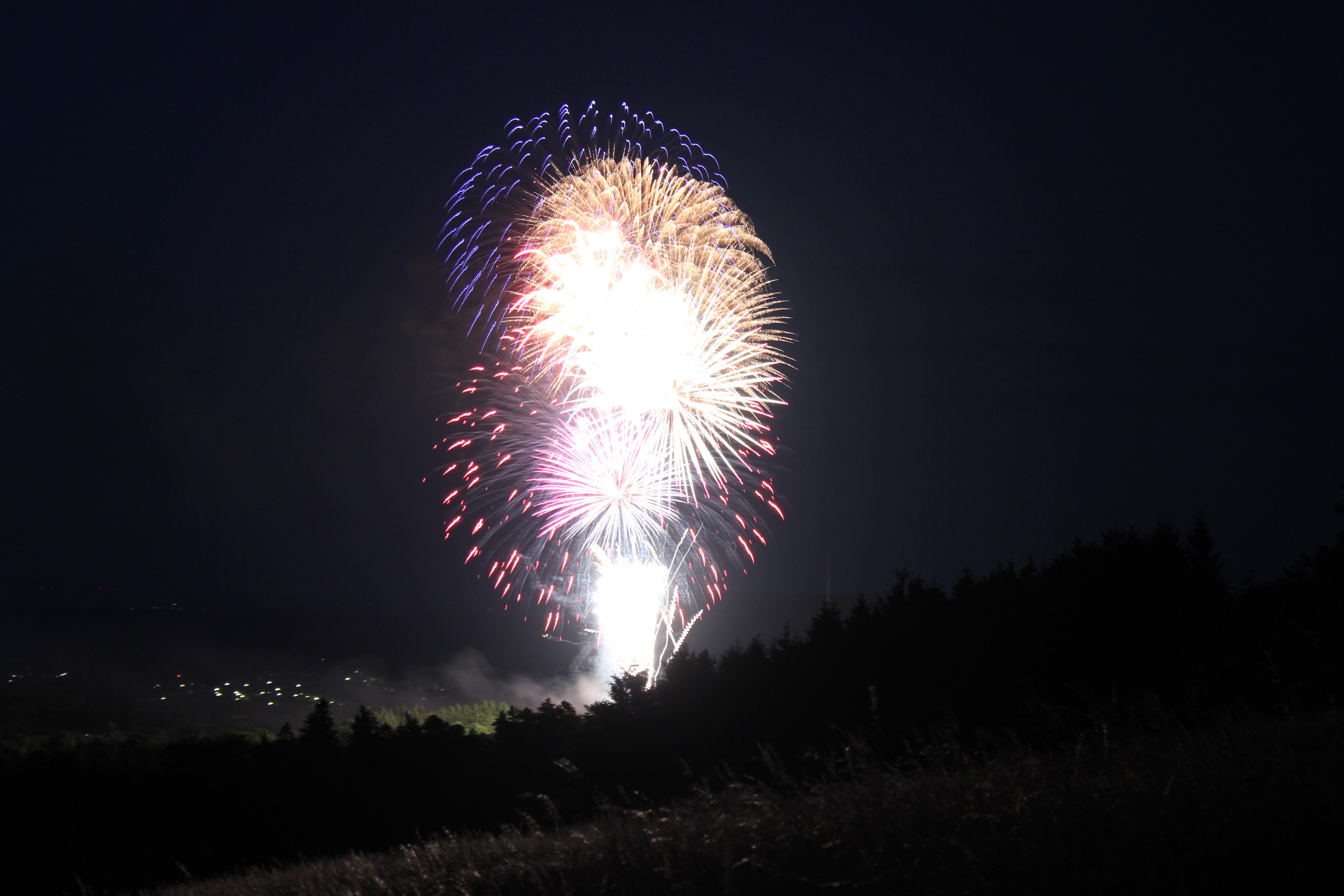 Fireworks over Goslar No.5 - cc0.photo